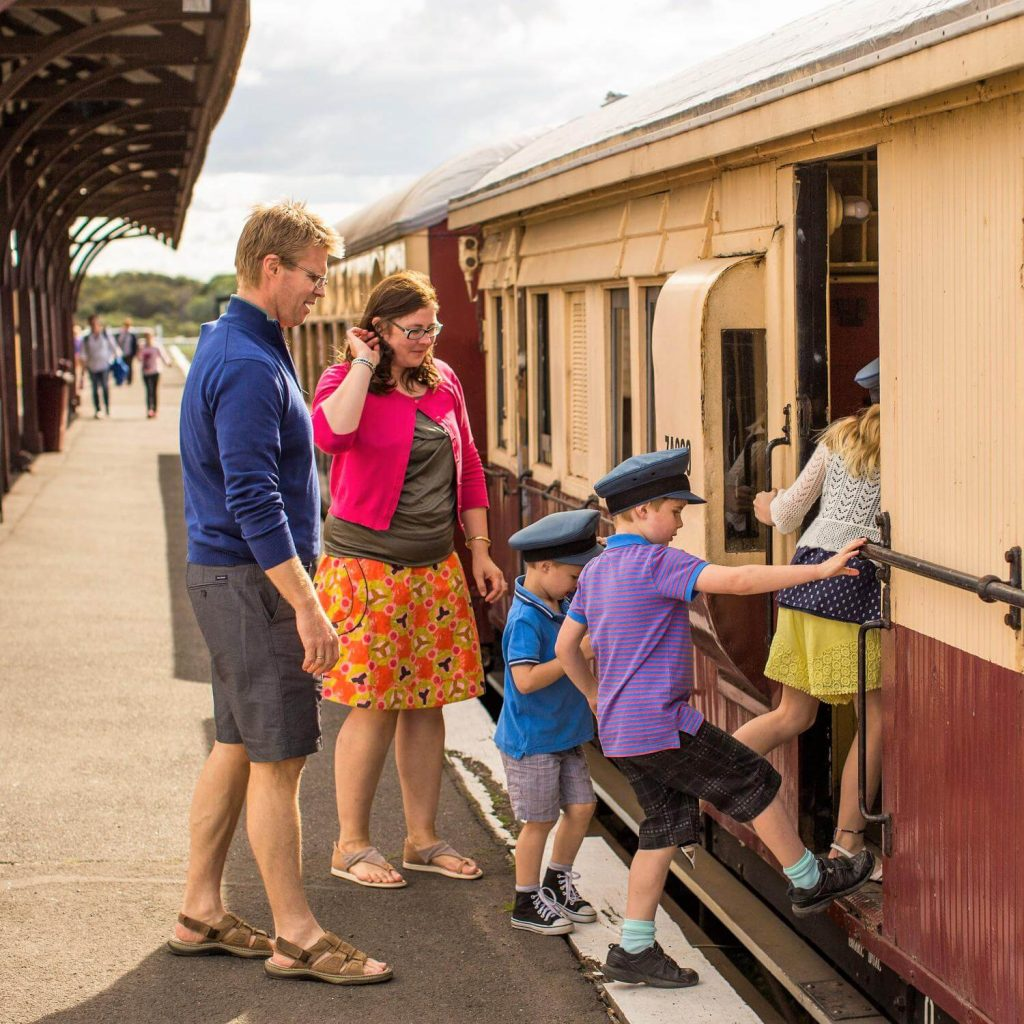 The Bellarine Railway - Queenscliff Station